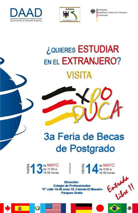 Afiche  EXPO EDUCA 2014