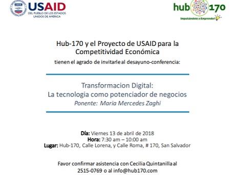 HUb 170 evento