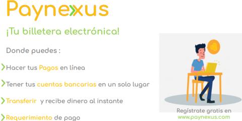 Paynexus - tu billetera electronica