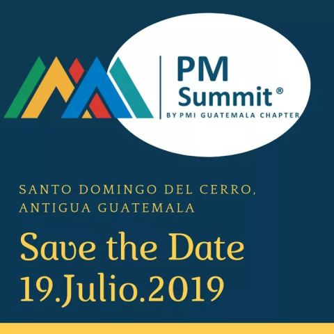 Save the date PMI julio 2019