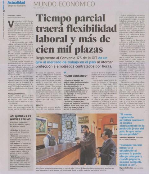 Tiempo Parcial Guatemala